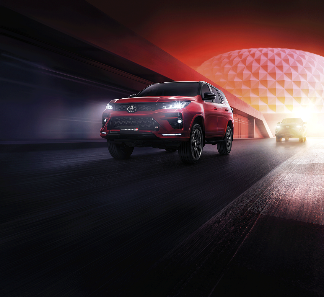 The first global debut in Thailand Toyota Fortuner GR Sport The Wisdom of a Leader